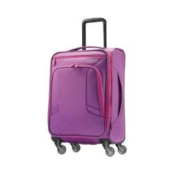 American Tourister 4 Kix Spinner 21in Purple/Pink