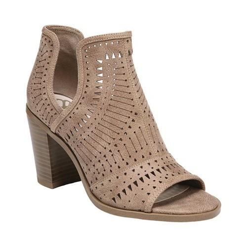 Women's Fergalicious Rattle Cut Out Shootie Nude Oiled Fabric