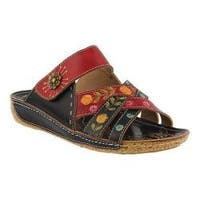 Women's L'Artiste by Spring Step Leigh Slide Black Multi Leather