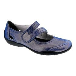 Women's Ros Hommerson Chelsea Blue Iridescent Leather