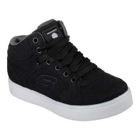 Boys' Skechers S Lights Energy Lights Zargo High Top Sneaker Black
