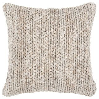 "Rizzy Home Diamond Natural/Beige Donny Osmond Home - 20""x20"""