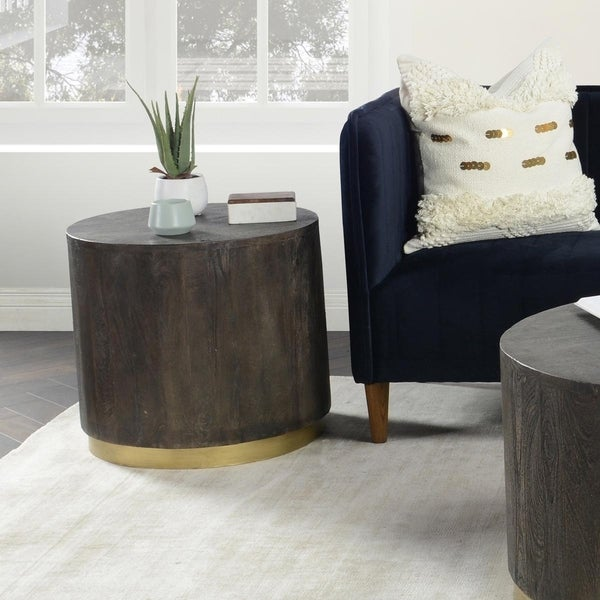 Andy Round End Table by Kosas Home