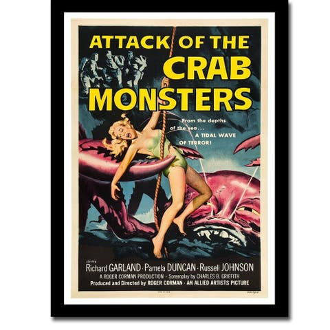 Attack of the Crab Monsters by Anonymous Gallery Wrapped Canvas Giclee Art