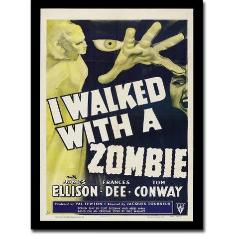 I Walked with a Zombie by Anonymous Gallery Wrapped Canvas Giclee Art