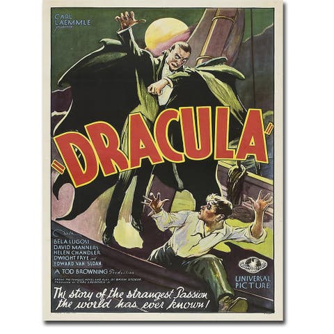 Dracula, 1931 by Anonymous Gallery Wrapped Canvas Giclee Art