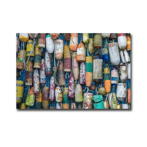 Good Buoy by Donald Paulson Gallery Wrapped Canvas Giclee Art