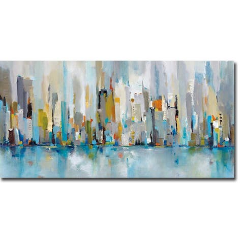 City Beat by Victoria Jackson Gallery Wrapped Canvas Giclee Art