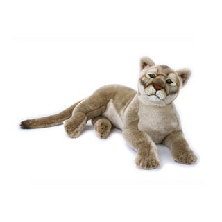 National Geographic Mountain Lion Plush - Brown