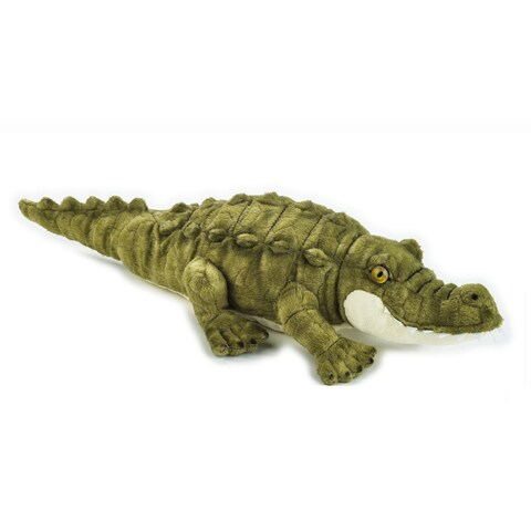 National Geographic Crocodile Plush - Green