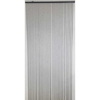 "Evideco Round beads Curtain Doorway 40 Strings Black 86.6""H x 35.5""W - 86.6h x 35.5 inch /220x90 cm"