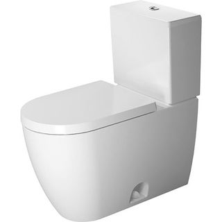 Duravit ME by Starck Two Piece Elongated Toilet 2171010000 White - N/A