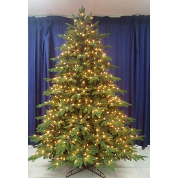 3450dafcf1d Shop 9  Pre-Lit Aurora Spruce Artificial Christmas Tree - Clear Lights -  Free Shipping Today - Overstock.com - 23002610