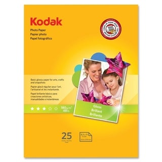 Kodak 25-pk of 8.5x11 Gloss Photo Paper