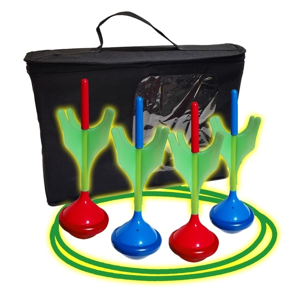 Funsparks Glow In The Dark Lawn Darts. Opens flyout.