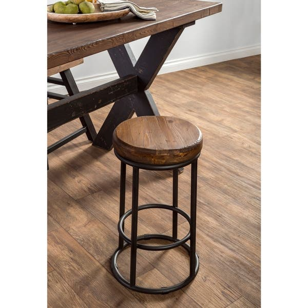 Outstanding Shop Carbon Loft Horseshoe Reclaimed Wood And Iron Bar And Ibusinesslaw Wood Chair Design Ideas Ibusinesslaworg