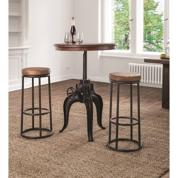 Fine Shop Carbon Loft Horseshoe Reclaimed Wood And Iron Bar And Uwap Interior Chair Design Uwaporg