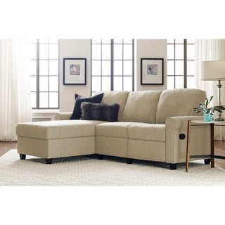 Serta Copenhagen Reclining Sectional with Left Storage Chaise