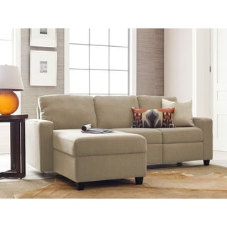 Serta Palisades Reclining Sectional with Left Storage Chaise