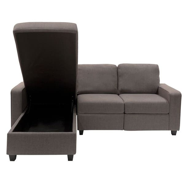 Admirable Shop Serta Palisades Reclining Sectional With Left Storage Dailytribune Chair Design For Home Dailytribuneorg