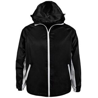 Mens Lightweight Rain/Windbreaker Jacket
