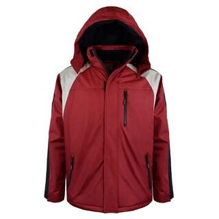 Men's Insulated Colorblock Ski Jacket