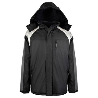 Men's Insulated Colorblock Ski Jacket