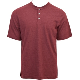 Link to Victory Outfitters Men's Heather Short Sleeve Henley Similar Items in Shirts