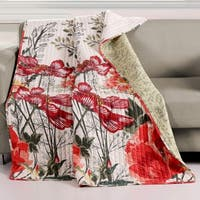 Barefoot Bungalow Meadow Quilted Throw