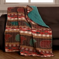Greenland Home Canyon Creek Quilted Throw