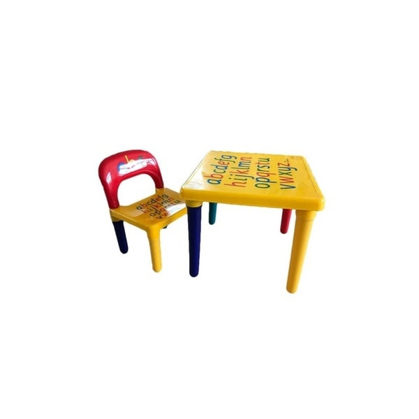 Play Study Furniture Children Toddler Kids Able And Chair Set