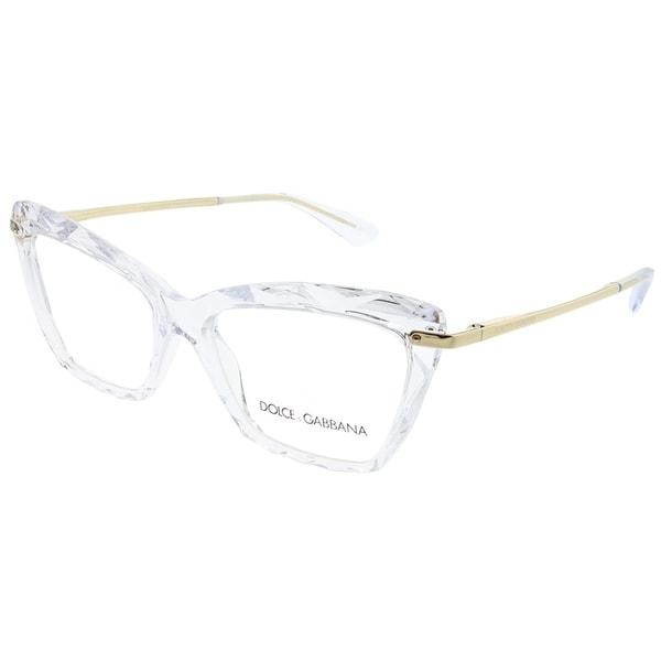 Shop Dolce & Gabbana Cat Eye DG 5025 3133 Womens Crystal Frame ...