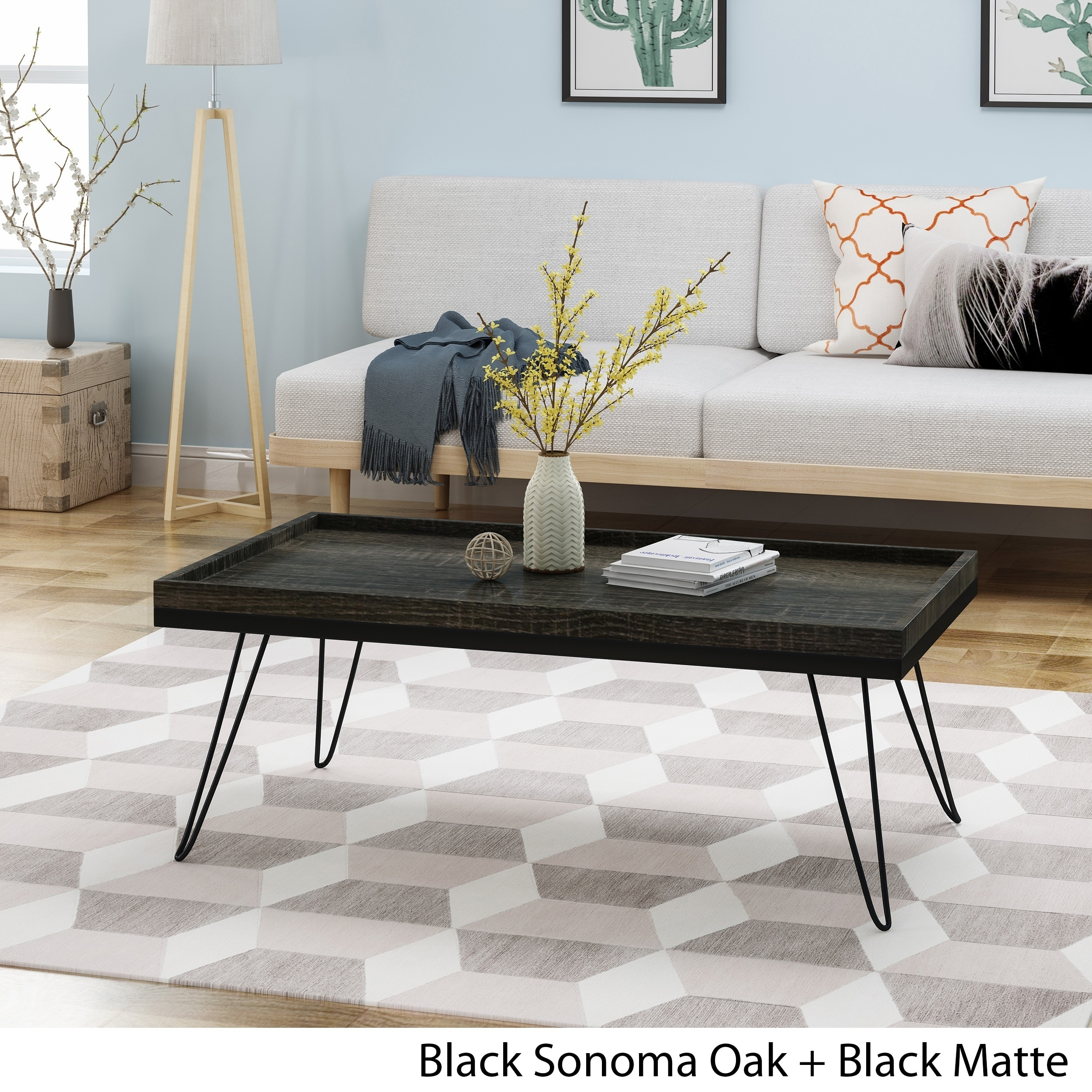 - Shop Seminole Industrial Modern Coffee Table With Hairpin Legs By
