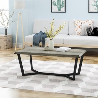 Oakmont Modern Industrial Coffee Table by Christopher Knight Home