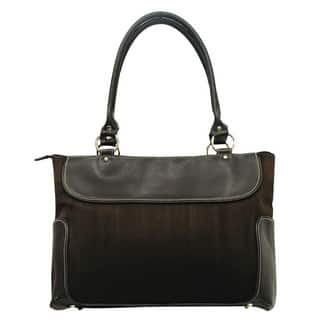 G. Pacific by Traveler's Choice Women's Casual Suede Business Laptop Tote https://ak1.ostkcdn.com/images/products/2300800/P10547398.jpg?impolicy=medium