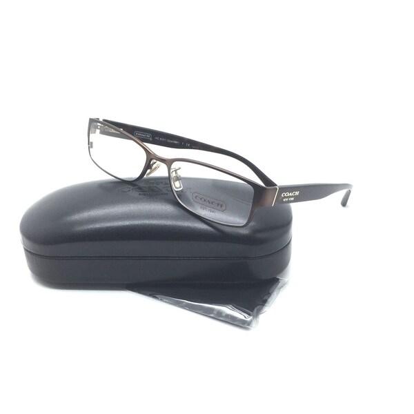 143ca32bec7 Shop Coach Women Bronze Rectangular Eyeglasses HC 5031 Spenser 9076 ...