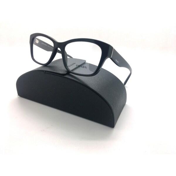 21da437e52ad Prada women  x27 s eyeglasses vpr-24r vpr24r 1ab101 black full rim optical