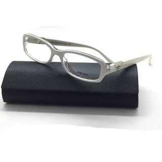 7c71ab90aa2 Prada Ivory rectangle eyeglasses 10N ABZ 1O1 51mm Italy