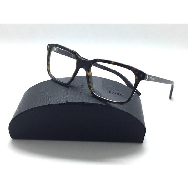 6db32401af Prada VPS 04R Eyeglasses 2AU-1O1 Dark Havana Tortoise 54mm
