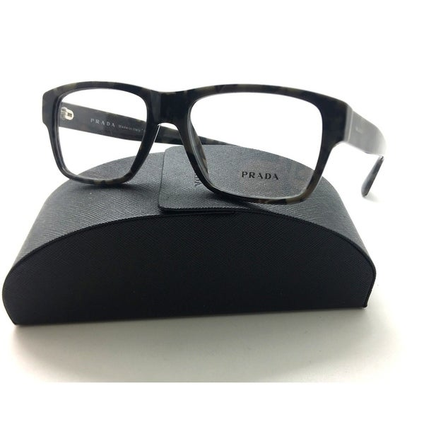 5b0b271baad Shop Prada Vpr 17s Uel-1o1 Grey Havana Authentic Eyeglasses 53mm W ...