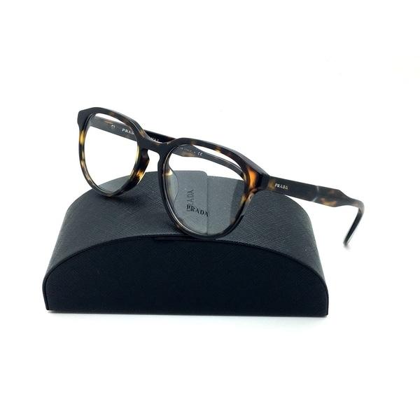 fc4ca44dc20 Shop Prada Tortoise Eyeglasses VPR 18S F 2AU 1O1 53 mm Demo lenses ...