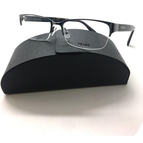 83c0e3a98727 ... reduced prada semi rimless titanium gunmetal vpr 57r 9ah 1o1 eyeglasses  54mm 0ea84 a9e29