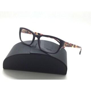 Prada VPR18O ROM-1O1 Eyeglasses Frames Purple Marble 54mm