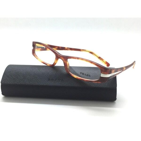 158dd7e834 Shop PRADA VPR 07H 4BW-1O1 Eyeglasses Optical Frames Glasses Light Tortoise  52MM - Free Shipping Today - Overstock.com - 23008425