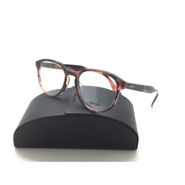346def761eb Shop New PRADA JOURNAL Eyeglasses VPR 18S-F UEO-1O1 Purple Brown Havana  Frame 53-19 - Free Shipping Today - Overstock.com - 23008431