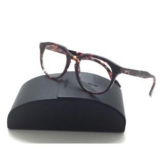 Prada Authentic VPR 13S UBO-1O1 Brown Havana/Violet RX Eyeglasses 50mm