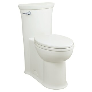 American Standard Tropic FloWise Right Height Elongated One-Piece Toilet with Right Hand Trip Lever 2786.813.020 White - N/A