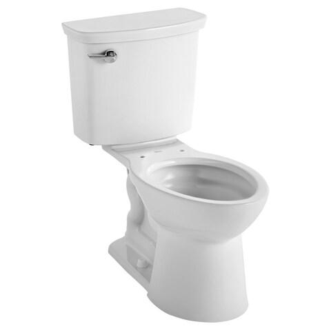 American Standard VorMax Left Hand Trip Lever Toilet Tank 4385A.104.021 Bone - N/A