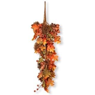"35"" Decorated Maple Leaf Teardrop"