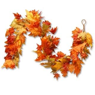 6 Ft. Maple Leaf Garland